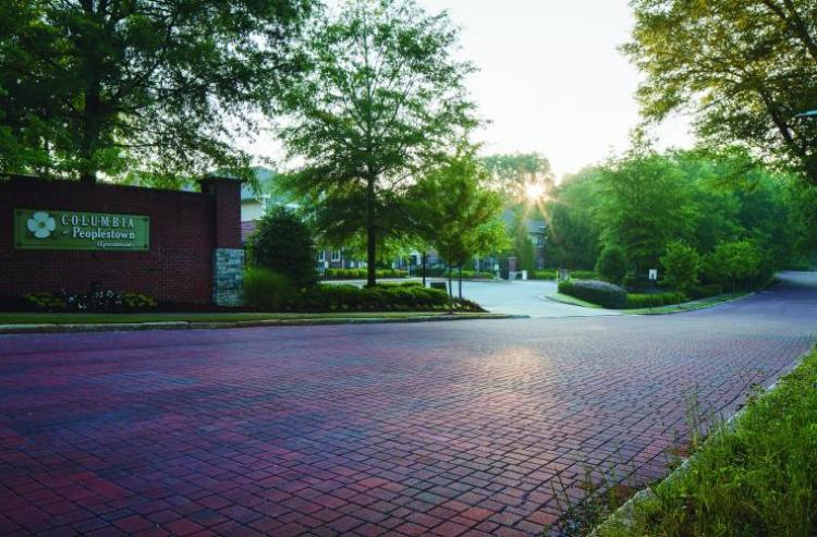 Interlocking concrete pavements, part of Atlanta's green infrastructure initiative