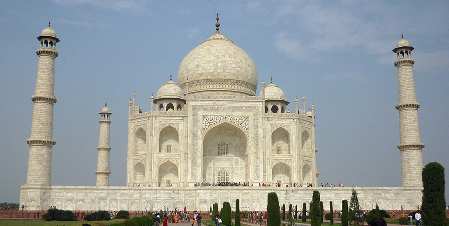 The Taj Mahal (Photo: Michael Bergin)