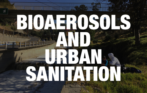 Bioaerosols and urban sanitation