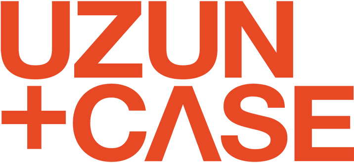 Uzun + Case orange logo