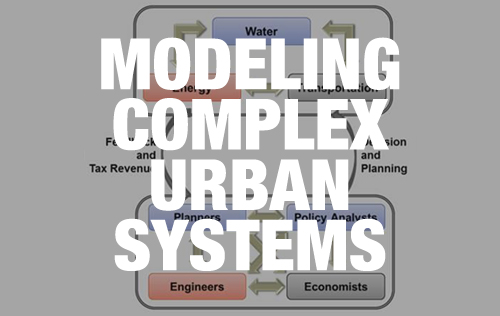 Modeling complex urban systems