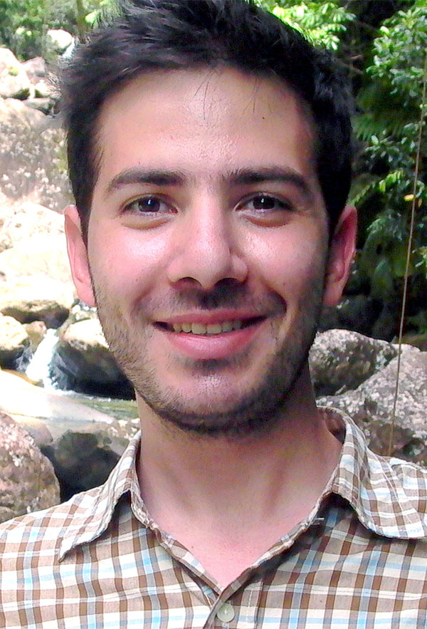 Ph.D. student Yannis Dialynas