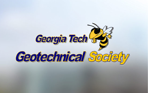 Georgia Tech Geotechnical Society with Buzz