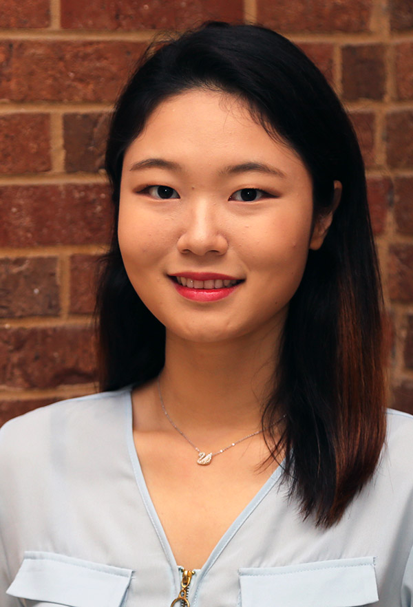 Third-year civil engineering student Susan Jin. (Photo: Joshua Stewart)