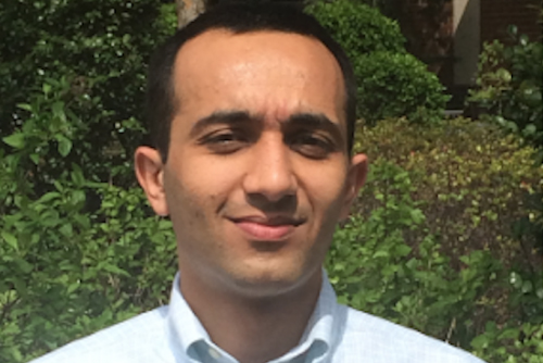 Pointivo co-founder Habib Fathi, who earned his Ph.D. in civil engineering in 2013. The company has been named one of Georgia's most innovative firms by the Technology Association of Georgia.