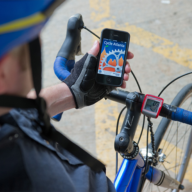 Cycle Atlanta smartphone app