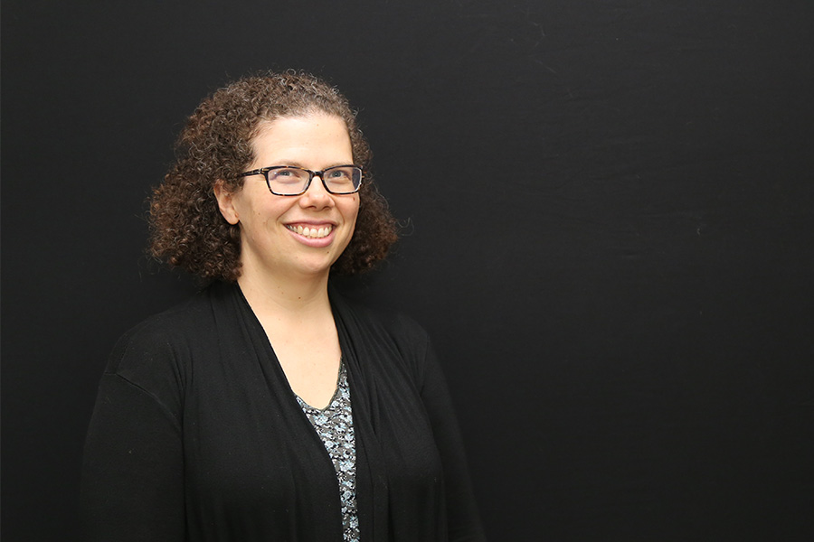 Kari Watkins has received tenure and promotion to associate professor. Watkins studies multi-modal transportation planning and using technology to improve transportation systems. (Photo: Jess Hunt-Ralston)