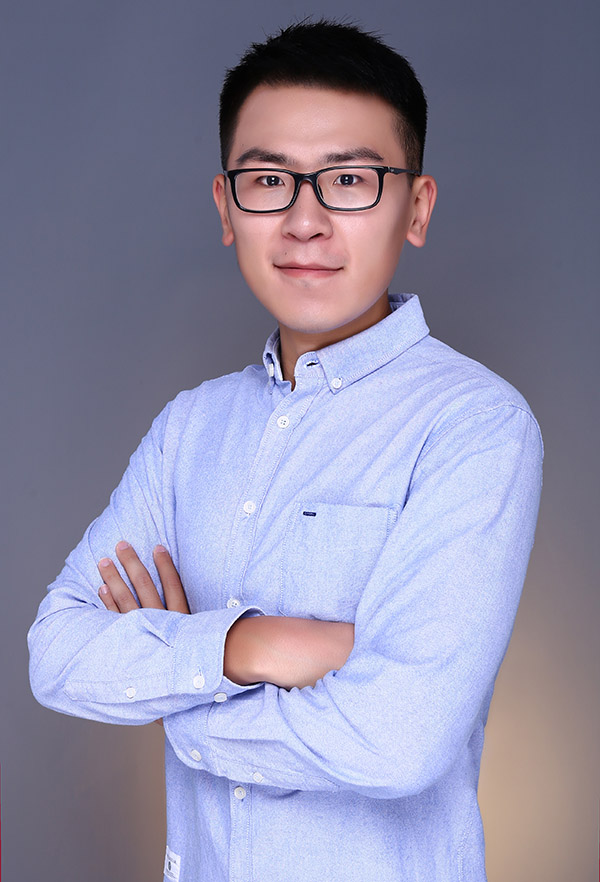 Ph.D. student Jianfeng Zhou, who has won a fellowship from the National Water Research Institute.