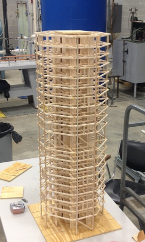 balsa wood structure design