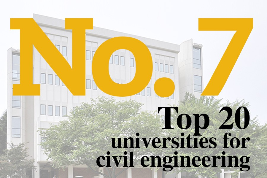 ShanghaiRankings Academic Program Ranking: Civil Engineering No. 7