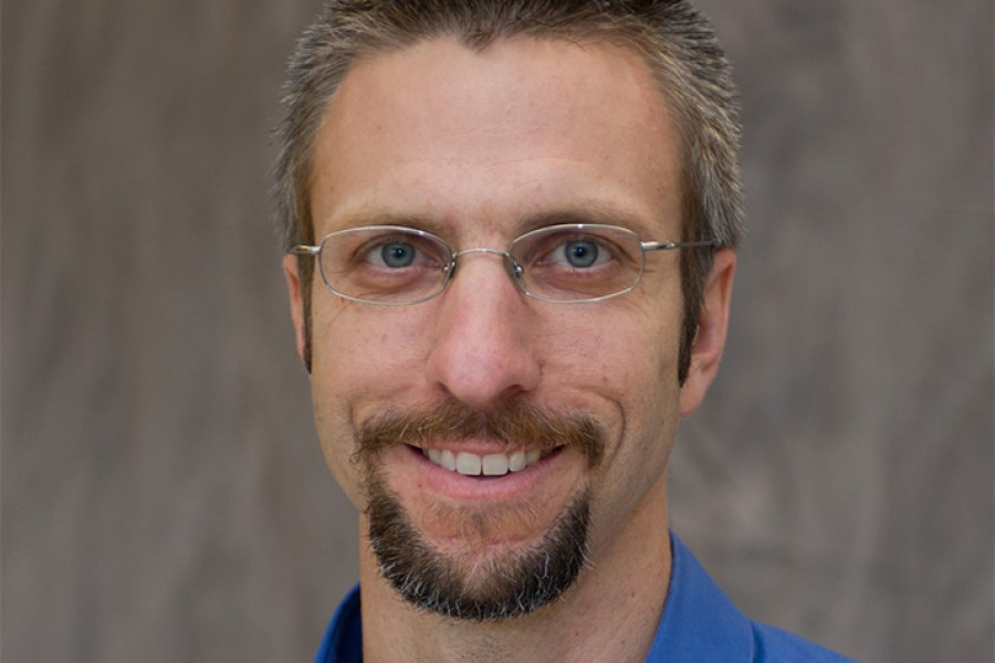 Associate Professor Kevin Haas, one of the inaugural Provost Teaching and Learning Fellows.