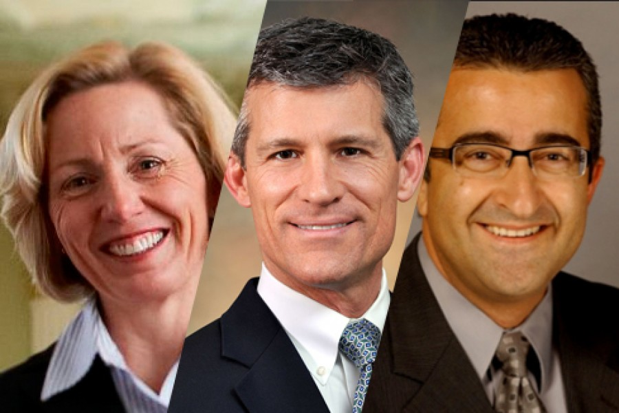 New CEE External Advisory Board Members Montanye, Houlihan and Selman.