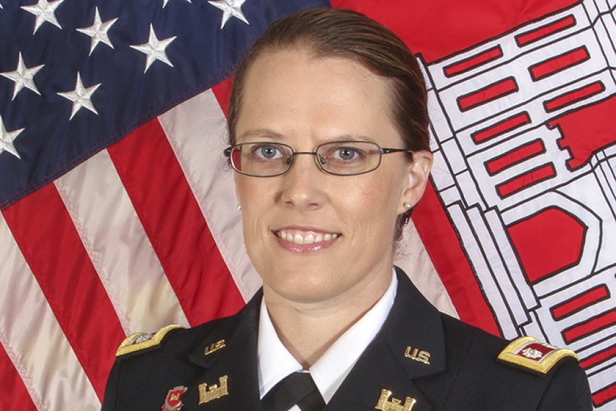 Army Lt. Col. Kate Sanborn, the new commander of the U.S. Army Corps of Engineers Honolulu District. (Photo Courtesy: U.S. Army Corps of Engineers)