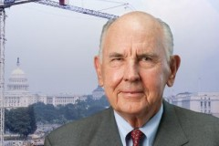 James Clark, former president and CEO of Clark Construction and founder of the A. James & Alice B. Clark Foundation. The foundation has given Georgia Tech $15 million to create a Clark Scholars Program for students who want to study engineering. (Photo Courtesy: A. James and Alice B. Clark Foundation)