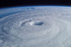 Hurricane Isabel, the strongest storm of the 2003 Atlantic hurricane season. (Photo: NASA)