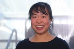 Assistant Professor Iris Tien, who will join 80 other exceptional young engineers at the National Academy of Engineering Frontiers of Engineering symposium. (Photo: Jess Hunt-Ralston)
