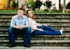 Marc and Kate Sanborn are working on doctorates in civil engineering with Lauren Stewart. The couple, married since 2012, are majors in the U.S. Army and need advanced degrees to continue their careers teaching at the U.S. Military Academy. (Photo: Missy Jurick)